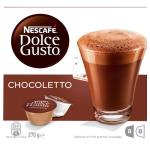 Nescafe Dolce Gusto Coffee Capsules Chocoletto 16pk