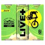 Live Plus Ignite Energy Drink 250ml cans 6pk