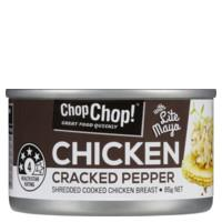 Chop Chop Chicken Shredded With Cracked Pepper 85g