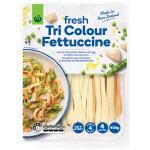 Countdown Fresh Flat Pasta Tricolour Fettuccine 400g