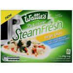 Wattie's Steamfresh Mixed Vegetables Broc, Cauli, Carrot & Cheese 235g