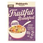 Hubbards Fruitful Breakfast Toasted Fruit Muesli box 650g