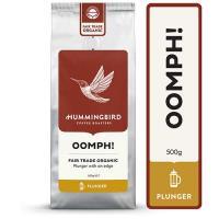 Hummingbird Oomph! Organic Plunger Grind Coffee 500g