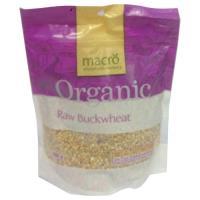 Macro Organic Buckwheat Raw 500g