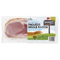 Freedom Farms Middle Bacon Rindless 200g