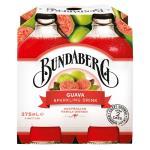 Bundaberg Soft Drink Sparkling Guava 1500ml (375ml x 4pk)