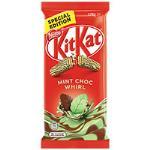 Nestle Kit Kat Chocolate Block Mint Choc Whirl 170g