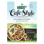 Vogels Cafe Style Light Muesli Luxury Nuts & Seed 400g