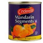Cinderella Mandarins Segments In Syrup 312g