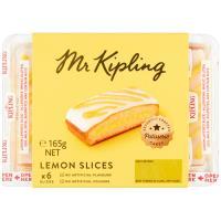 Mr Kipling Slices Lemon 6pk