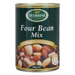 Delmaine Beans Four Bean Mix 390g