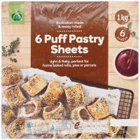 Countdown 6 Puff Pastry sheets 1kg
