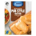 Sealord Fish Fillets Hoki In Pub Style Batter 450g 6pk
