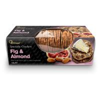 Ob Finest Crackers Fig & Almond 150g