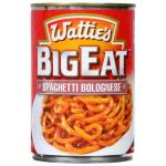 Wattie's Big Eat Canned Dinners Spaghetti Bolognese 410g