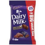 Cadbury Individually Wrapped Dairy Milk Chocolate 288g