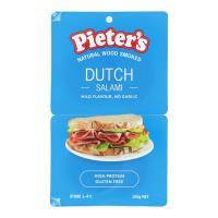 Pieters Salami Sliced Dutch 100g