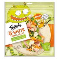 Farrah's Wraps Premium White Snack 8pk