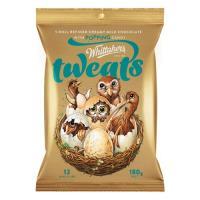 Whittaker's Whittakers Chocolate Bar Creamy Milk Mini Tweats 180g