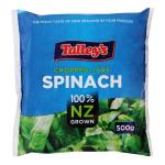 Talley's Spinach Portions 500g