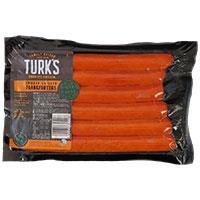 Turks Free Range Frankfurters Chicken 450g (6pk)