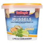 Talley's Talleys Mussels Lime & Coriander pottle 375g