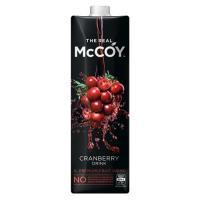 McCoy Fruit Drink Real Cranberry 1l