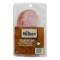 Hellers Middle Bacon Short Cut 250g