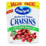 Ocean Spray Craisins Reduced Sugar 250g