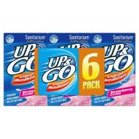 Sanitarium Up & Go Breakfast Drink Strawberry 1500ml (250ml x 6pk)