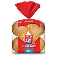 Tip Top Super Soft Burger Buns King Size Sesame Seed 720g