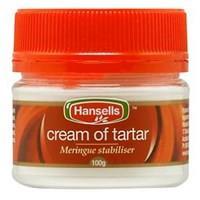 Hansells Cream Of Tartar 100g