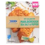 Sealord Marlborough Sea Salt & Pepper New Zealand Hoki Fillets 300g
