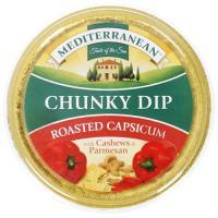 Mediterranean Dip Chunky Roasted Capsicum 135g