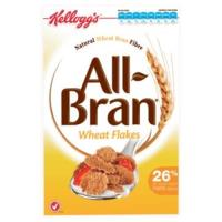 Kelloggs All Bran Cereal Wheat Flakes 330g