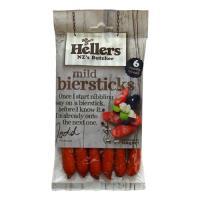Hellers Biersticks Mild 168g (6pk)