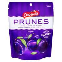 Cinderella Prunes Pitted Californian 250g