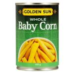 Golden Sun Corn Whole Baby Gluten Free 425g