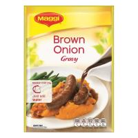 Maggi Instant Gravy Mix Brown Onion sachet 31g