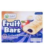 Select Fruit Filled Bar Custard & Blueberry 225g (37.5g x 6pk)