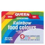Queen Food Colour Multi Pack 4pk