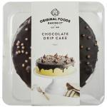 Original Foods Cake Chocolate Drip 8 inch