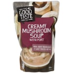 The Good Taste Co. Fresh Soup Creamy Mushroom With Port 600g