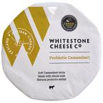 Whitestone Soft White Cheese Probiotic Camembert Wheel 125g