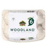 Woodlands Free Range Size 6 318g (6pk)