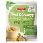 Hansells Thick & Creamy Yoghurt Base Mango Passion sachet 220g