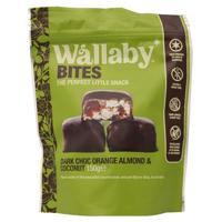 Wallaby Bites Snack Bites Orange Almond & Coconut gluten free 150g