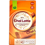 Countdown Coffee Mix Chai Latte box 10 stick sachets