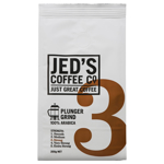 Jeds Coffee Co Plunger Grind 3 200g