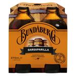 Bundaberg Soft Drink Sarsparilla 1500ml (375ml x 4pk)